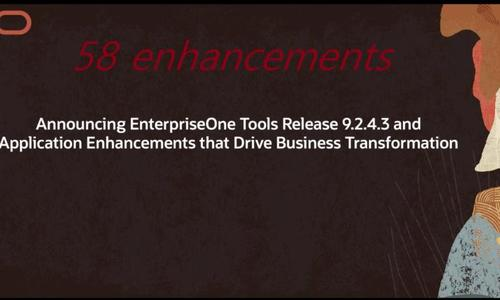 JD Edwards Premier Support for EnterpriseOne Extended Until 2031