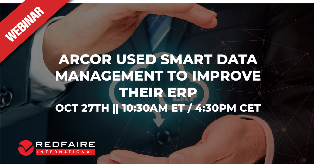 Webinar: Why Proactive JDE Data Management Makes Sense – ARCOR's Story Image