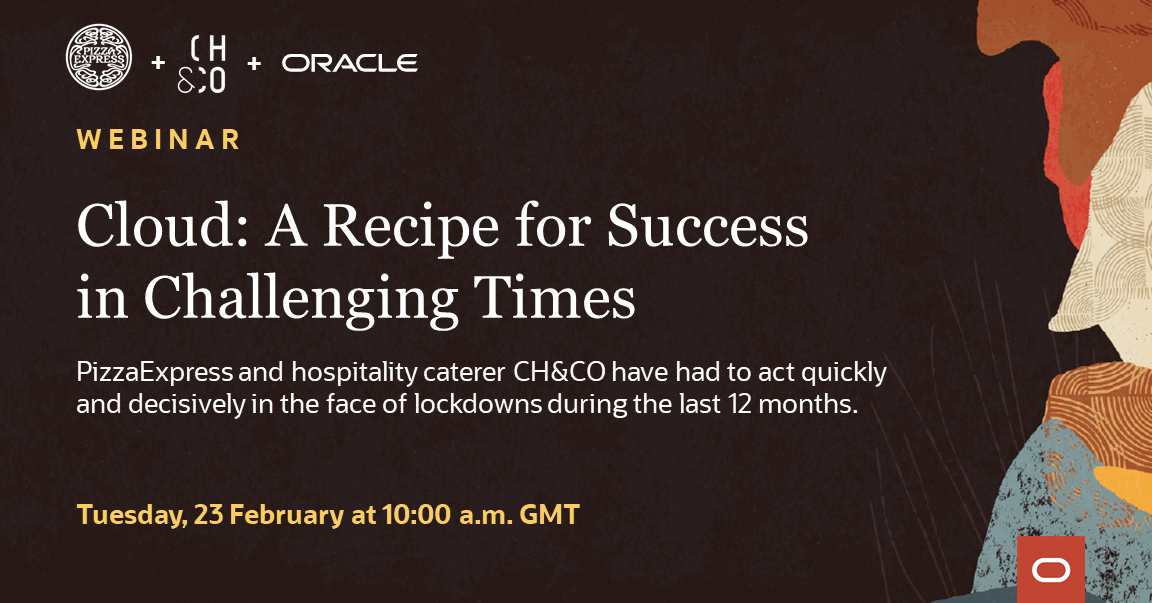 Webinar: Cloud - Recipe for Success in Challenging Times